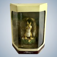 Disney's Tiny Kingdom Winnie the Pooh and the Honey Tree Rabbit Miniature Figurine Retired New in Box