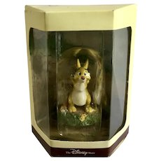 Disney's Tiny Kingdom Winnie the Pooh and the Honey Tree Rabbit Miniature Figurine Retired New in Box
