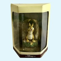 Disney's Tiny Kingdom Winnie the Pooh Rabbit Miniature Figurine NIB