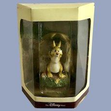 Disney's Tiny Kingdom Winnie the Pooh Rabbit Miniature Figurine NIB