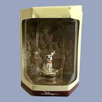 Disney's Tiny Kingdom 101 Dalmatians Patch Puppy Dog Miniature Figurine Retired New in Box