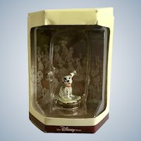 Disney's Tiny Kingdom 101 Dalmatians Patch Puppy Dog Miniature Figurine Retired New in Box