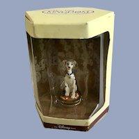 Disney's Tiny Kingdom 101 Dalmatians Perdita Dog Miniature Figurine Retired New in Box