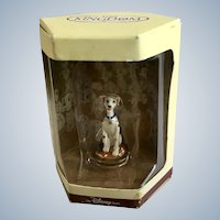 Disney's Tiny Kingdom 101 Dalmatians Perdita Dog Miniature Figurine Retired New in Box