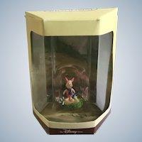 Disney's Tiny Kingdom Winnie the Pooh and the Honey Tree Piglet Pig Miniature Figurine Retired New in Box