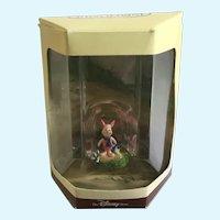 Disney's Tiny Kingdom Winnie the Pooh Piglet Pig Miniature Figurine NIB