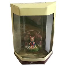 Disney's Tiny Kingdom Winnie the Pooh Piglet Pig Miniature Figurine NIB