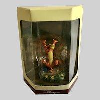 Disney's Tiny Kingdom Winnie the Pooh Tigger Miniature Figurine Retired NIB