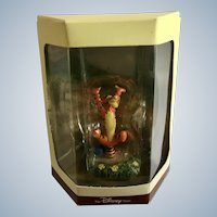 Disney's Tiny Kingdom Winnie the Pooh and the Honey Tree Tigger Miniature Figurine Retired New in Box