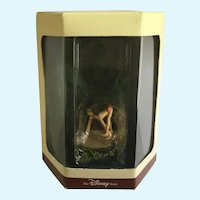 Disney's Tiny Kingdom Jungle Book Mowgli Boy Miniature Figurines Retired New in Box