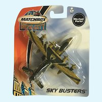 2003 Matchbox Transport Plane Hero City Sky Busters Die-Cast Airplane Mattel