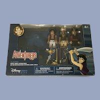 Disney Adventurers Aladdin, Jafar  Rasoul Figurines Mega Minis Action Pack Exclusive