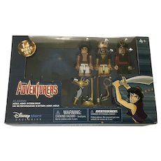 Disney Adventurers Aladdin, Jafar  Rasoul Figurines Mega Minis Action Pack Exclusive