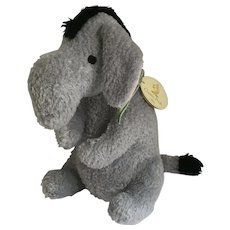 Disney Eeyore Stuffed Plush Classic Pooh's Friend 2006  Animal with Tags A Bear and His Things Collection