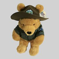 Winnie the Pooh Bear Stuffed Plush Park Ranger Disney