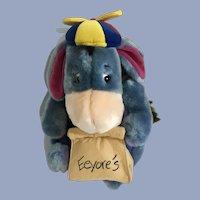 "Eeyore Donkey Stuffed Plush Disney New with Tags 12"""