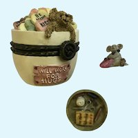 Trinket Box Everlove's Dandy Candy & Sweettooth McNibble Boyds Bear and Friends