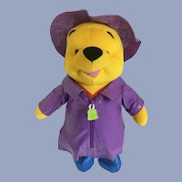 Winnie the Pooh Bear Stuffed Plush April Shower's Disney
