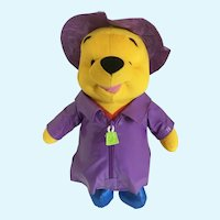 Winnie the Pooh Bear Stuffed Plush April Shower's Disney