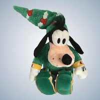 Elf Goofy Stuffed Plush Christmas Elf Tin Soldier North Pole Express Disney Store Exclusive New 13""