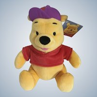 Winnie the Pooh Stuffed Plush Baseball Cap Disney New 2003 10""