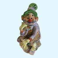 Juma Limited Edition Clown Hobo Pottery Figurine