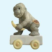 Ape Monkey Train Car Figurine #116946 Precious Moments Birthday Go Bananas