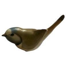 Vintage Bird Long-Tailed Tit Russian USSR Lomonosov LFZ Porcelain Birdie Figurine