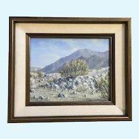 Gloria Mae Smith, Plein Air Desert Landscape Oil Painting