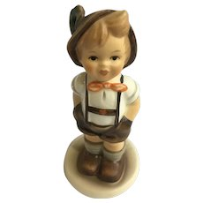 M I Hummel Goebel For Keeps #630 Jungbauer Little Farmer Boy Club Exclusive