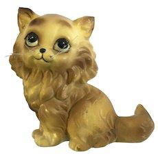Josef Original Persian Cat Named Amber Whiskers Figurine Made in Japan