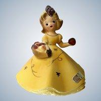 Josef Originals November Girl Figurine Japan