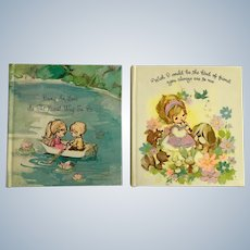 1970's Sunbeam Library American Greetings Children Miniature Books Unused Love & Friends