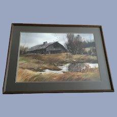 James (Jim) R Fallier, AWS Watercolor Painting
