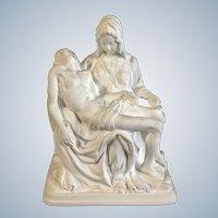 Lenox Pieta 1993 Limited Edition Mother Mary & Jesus Bisque Figurine
