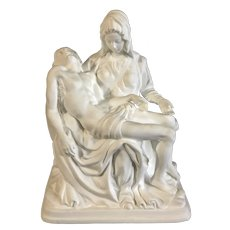Lenox Pieta 1993 Limited Edition Icon Mother Mary & Jesus Bisque Figurine