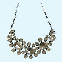 Gorgeous Faux Diamond Rhinestone Necklace