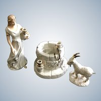 Lenox Christmas Classic Nativity Collection Woman Of Bethlehem Porcelain Figurine Limited Edition Set 2002