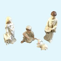 Lenox Christmas Classic Nativity Collection Children Of Bethlehem Porcelain Figurine Set 1995