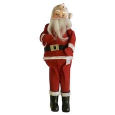 Christmas Dream Dolls Santa Claus Stuffed Plush Rubber Face Saint Nicholas