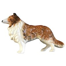 Collie Dog Figurine Sylvac England