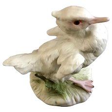 Cybis Duckling Baby Brother Duck Porcelain Figurine from Everhart Jewelers