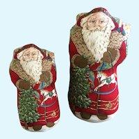 Father Christmas Santa Claus Pillow Displays