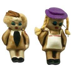 1940's Girl WWII Doll Uniform Pins