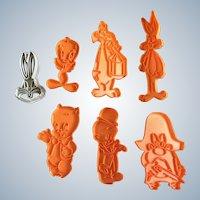 Vintage Warner Bros Cookie Cutters Tweety, Bugs Bunny, Sylvester Porky
