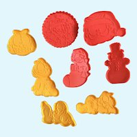 Vintage Garfield The Cat Christmas Cookie Cutters Wilton