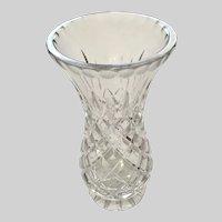 Irish Rose 24% Lead Crystal Vase Ireland Designed, Made in Czech Republic