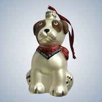 Wells Fargo Bank Jack Dog Christmas Ornament 2005