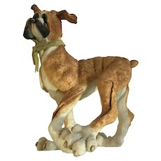 A Breed Apart Boxer Dog Walking Figurine #70050 Discontinued
