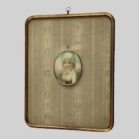 William Wood, Lady Portrait 20th Century Museum Lithograph Print